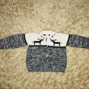 Carter's zip up sweater